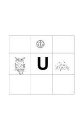 Buchstabenbilder  U