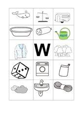 Buchstabenbilder  W