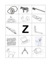 Buchstabenbilder  Z