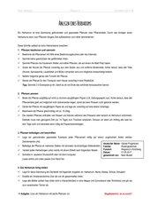 Anlage & Bewertungskriterien eines Herbariums