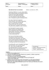 KA Balladen/Inhaltsangabe