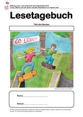 Welttag des Buches 2018: Lenny, Melina und die Sache mit dem Skateboard - Lesetagebuch für Klasse 3 bis 5