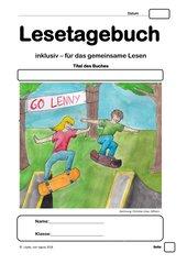 Welttag des Buches 2018: Lenny, Melina und die Sache mit dem Skateboard - INKLUSIVES Lesetagebuch für Klasse 3 bis 5