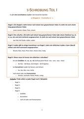 Handout s-Schreibung