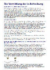 Signalgruppen-basierte Übungen zur ie-Schreibung