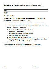 Reflektierte Korrektur einer Kurs- / Klassenarbeit