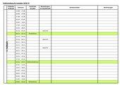 Blanko-Stoffverteilungsplan 2018/2019 für Sachsen