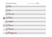 MALIOPE Alphabetisierung - Schreibblätter, Teil 5