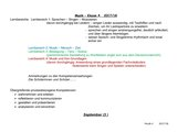 Stoffverteilungsplan Musik Klasse 4 LehrplanPLUS Bayern