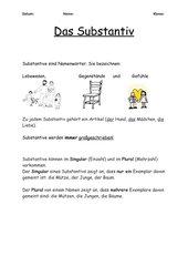 Definitions-AB zum Substantiv
