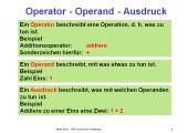Python - der Additionsoperator