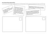 Einen Briefumschlag richtig beschriften - Übung zum Cornelsen Deutschbuch 5 (Diff. Ausg.), Kap.