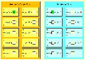 3 Excel-Arbeitsblätter Bruchrechnung zur Bestimmung von Anteil und Ganzem