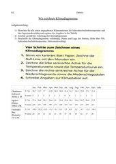 Arbeitsanleitung Klimadiagramme