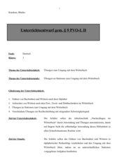 Wörterbucharbeit - Stationslauf
