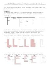 Terme mit Buchstabenfiguren