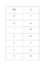Gradmaß Bogenmaß Domino