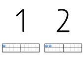 Zahlen 1-20 darstellen
