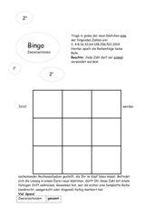 Bingo-Zweierpotenzen