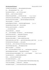Personal pronouns - new you and me 1 U1-U5
