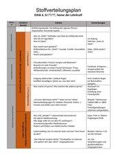 Stoffverteilungsplan Mittelschule Ethik 6 Bayern