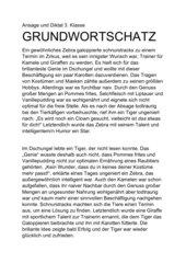 Diktat zur NMS Deutschstunde 3 Grundwortschatz