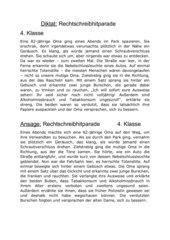 Diktat zur NMS-Deutschstunde 4 Rechtschreibhitparade