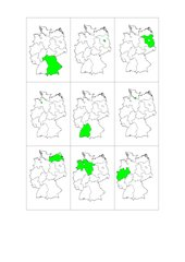 Lernkarten Bundesländer ohne Hauptstädte