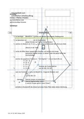 Pyramide schriftliche Anweisung