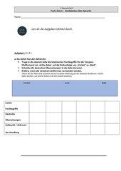 Klassenarbeit Deutsch