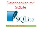 100 Datenbanken - SQLite Kommandofenster - einfache Lernumgebung für SQL