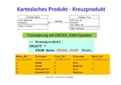 150 Datenbanken - SQLite - SELECT-Befehl – Verbundarten