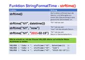 200 Datenbanken - SQLite - SELECT-Befehl - eingebaute Funktionen