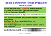 230 Datenbanken - SQLite - Datenbank und Python