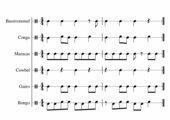 Rhythmusschnipsel_Rhythmicals mit Orff-Instrumten