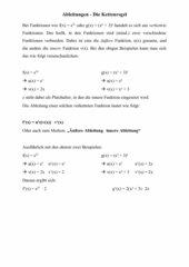 Erklärung Kettenregel