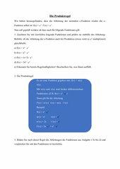 Produktregel mit e-Funktion