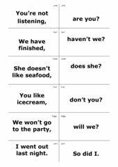 Sprachliches Zuordnungsspiel