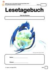 Welttag des Buches 2019: Der geheime Kontinent - Lesetagebuch für Klasse 3 bis 5