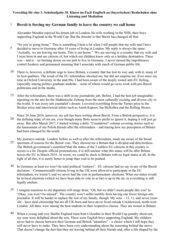 Vorschlag fuer eine 3. Englisch-Schulaufgabe 10. Klasse - mit Lösung