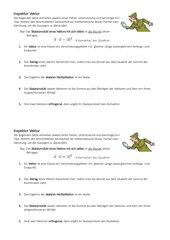 Vektoren: Fehler in mathematischen Aussagen
