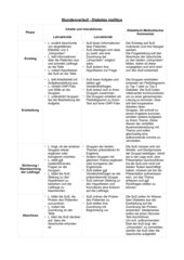 Diabetes mellitus (Stundenentwurf)