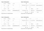 Puzzle Gleichungen lösen