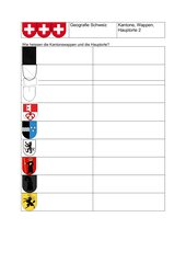 Schweizer Kantonswappen  #2