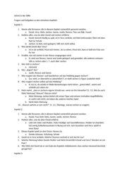 Carry Slee: Schrei in der Stille Fragen und Antworten zu den Kapiteln