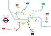 Connective Tube Map
