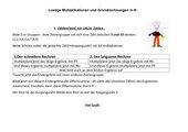 Lustige Multiplikationen und Grundrechnungen in N