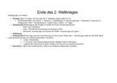 UR-Skizze: Ende des 2. Weltkrieges, Unterrichtsprojekt Deutsch und Geschichte