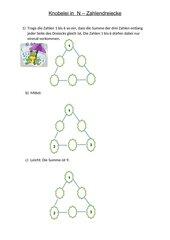 Knobelei in  N – Zahlendreiecke