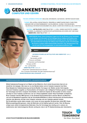 Gedankensteuerung - Computer und Gehirn